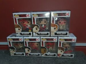 LOT-OF-7-SIGNED-FUNKO-POPS-FROM-THE-034-LOSERS-CLUB-034-FROM-THE-MOVIE-IT