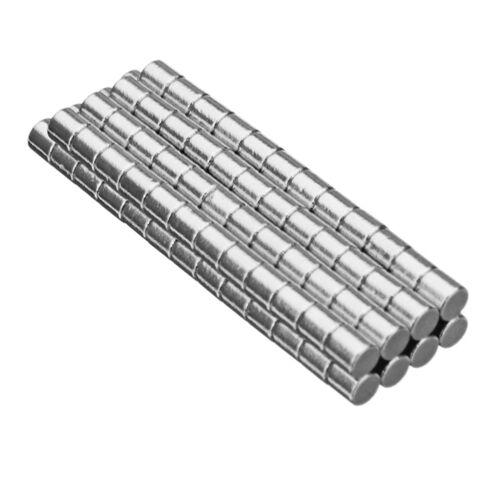KE/_ KF/_ 100Pcs 2x2mm N40 Mini Round Cylinder Strong Rare Earth Neodymium Magne