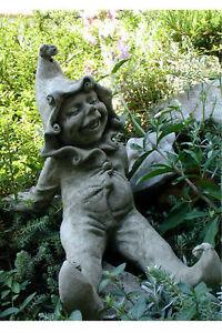 Figur-Skulptur-Wichtel-034-Jimmy-034-Pheeberts-by-Fiona-Scott-Steinguss-Vidroflor