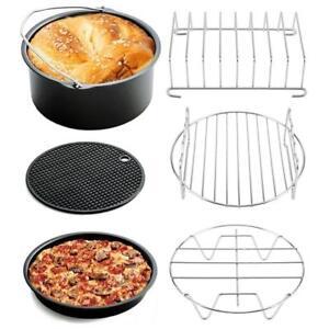 6in1-Air-Fryer-Accessories-Set-Kit-Parts-Metal-Holder-Skewer-Rack-Cake-Barrel-M