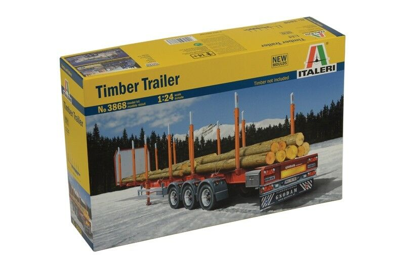 Italeri 1 24 Timber Trailer