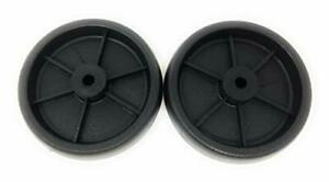 Set-Of-2-Replacement-BBQ-Grill-Wheels-Pair-Set-Kit-Solid-Plastic-Wheel