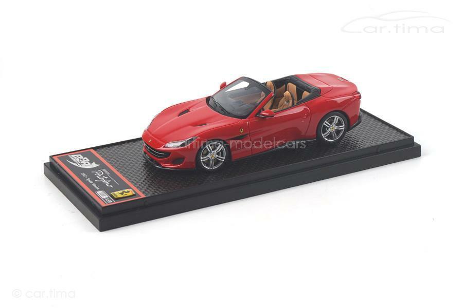 Ferrari Portofino - rot Corsa - 1 of 159 - BBR - 1 43 - BBRC207B