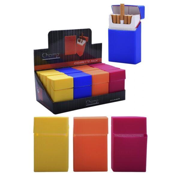 Champ Silikon Zigaretten-etui Packung Abdeckung Halter In Verschiedenen Farben