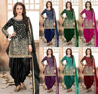 Salwar Kameez Indian//Pakistani Dress Anarkali Punjabi Wedding Wear Shalwar Suit