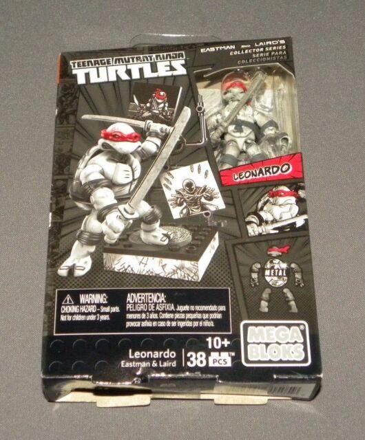 Mega Bloks Leonardo Eastman and Laird/'s Teenage Mutant Ninja Turtles DPD86