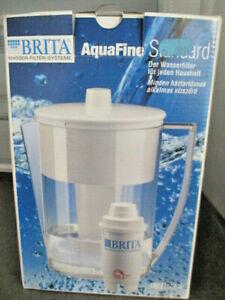 BRITA AquaFine Standard Wasser-Filter-System  Kanne mit Kartusche (K3)