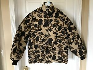 Walls-Blizzard-Pruf-Camo-Down-Insulated-Hunting-Puffer-Jacket-Coat-Size-42-Reg