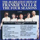 The 20 Greatest Hits: Live by Frankie Valli & the Four Seasons (CD, Jul-1990, Curb)