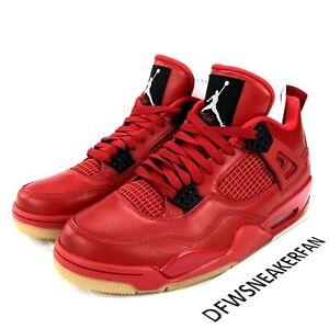 """b00d42075a34 Nike Air Jordan 4 Retro NRG """" Fire Red """" Av3914 600 Men s Size 12.5 ..."""