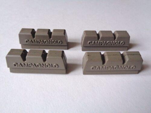 x4 pcs * NOS vintage 1980 S Campagnolo Victory gris frein bloc Pads *