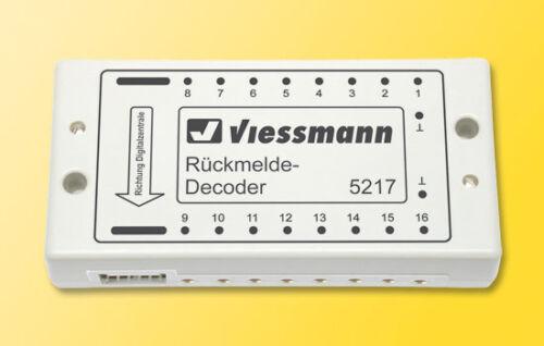 SH Viessmann 5217 rückmelde decoder per s88-bus