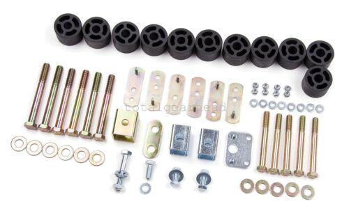 "J9120 1997-2006 Jeep TJ Wrangler 1.25/"" Body Lift Kit Zone Offroad 1 1//4/"""