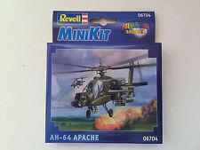 Revell Mini Kit 06704 Snap Juntos AH-64 Apache Helicopter-totalmente Nuevo