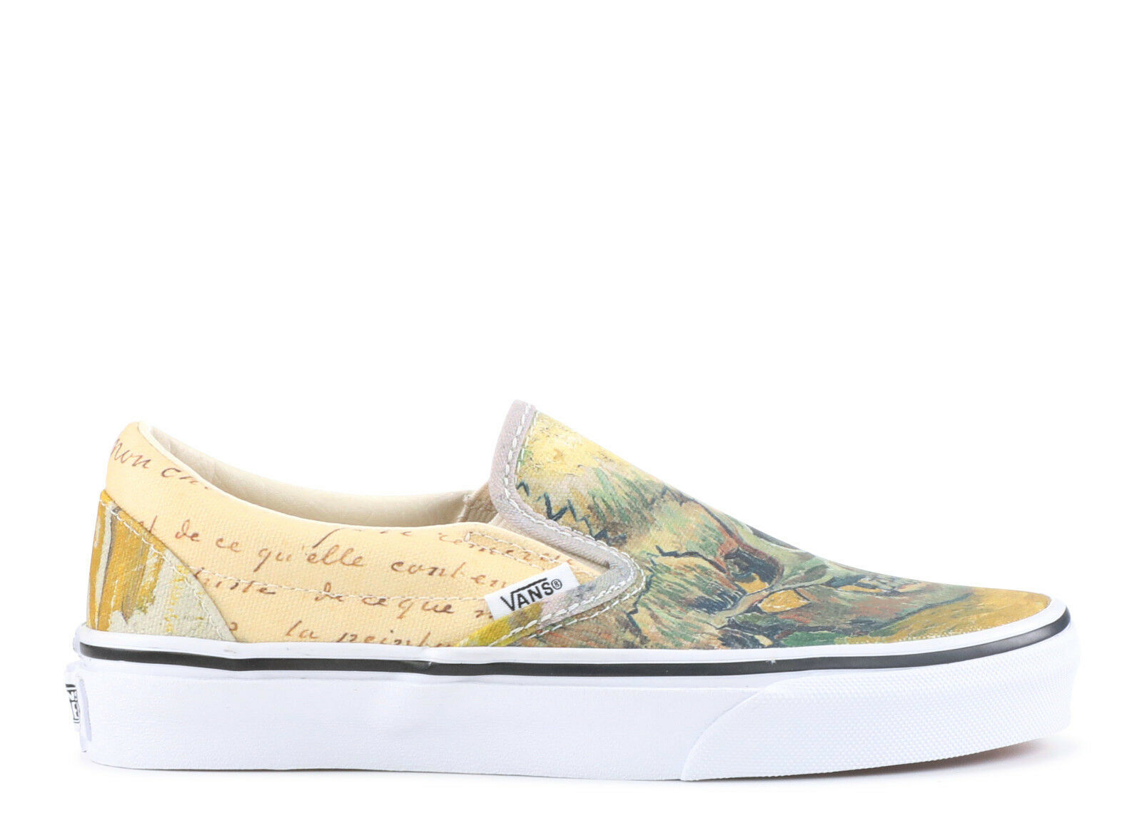 Vans UA Classic Slip On x Vincent Van Gogh Skull Limited Art Men new VN0A38F7U48