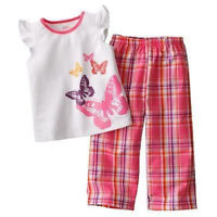 NWT ☀BUTTERFLY☀ CARTERS  Girls Pajamas  New SO CUTE!!  18m