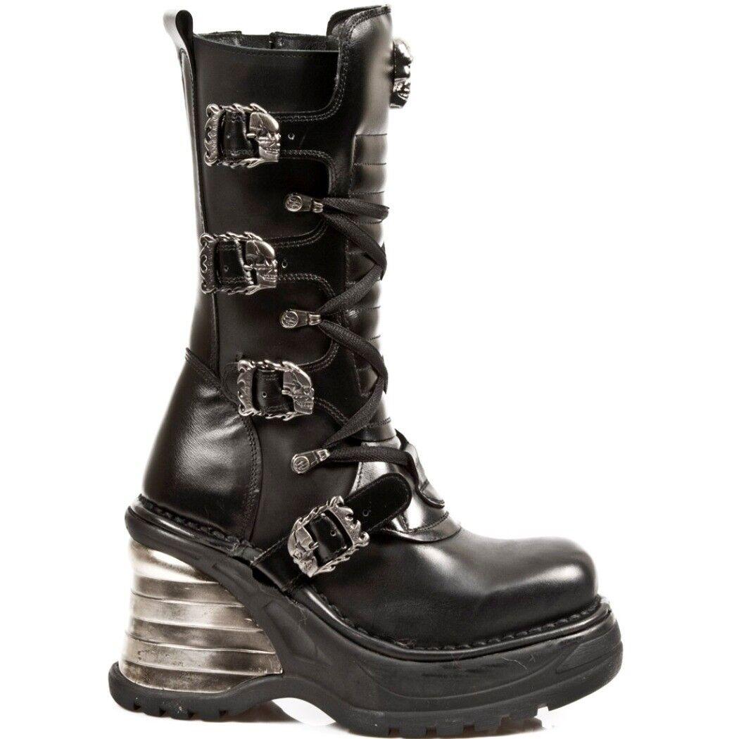 NEWROCK NR M.8374 S1 Schwarz Stiefel - - - New Rock Stiefel - Damen   844505