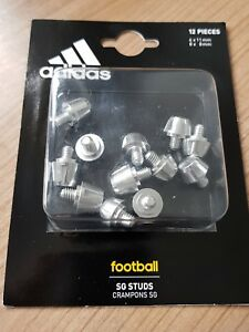 Single Adidas Aluminum SG 8mm Stud//Cleat metal replacement f50 11pro New