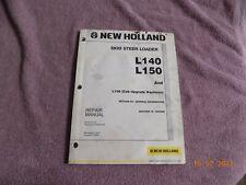 New Holland L140 L150 Skid Loader Engine Amp General Info Service Repair Manual