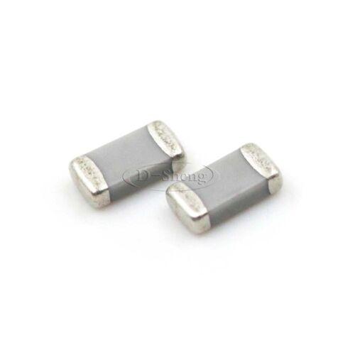 Condensadores 50PCS SMD//SMT 1206 100PF 101J 1KV 1000V 5/% Condensadores de Cerámica sin fines de lucro