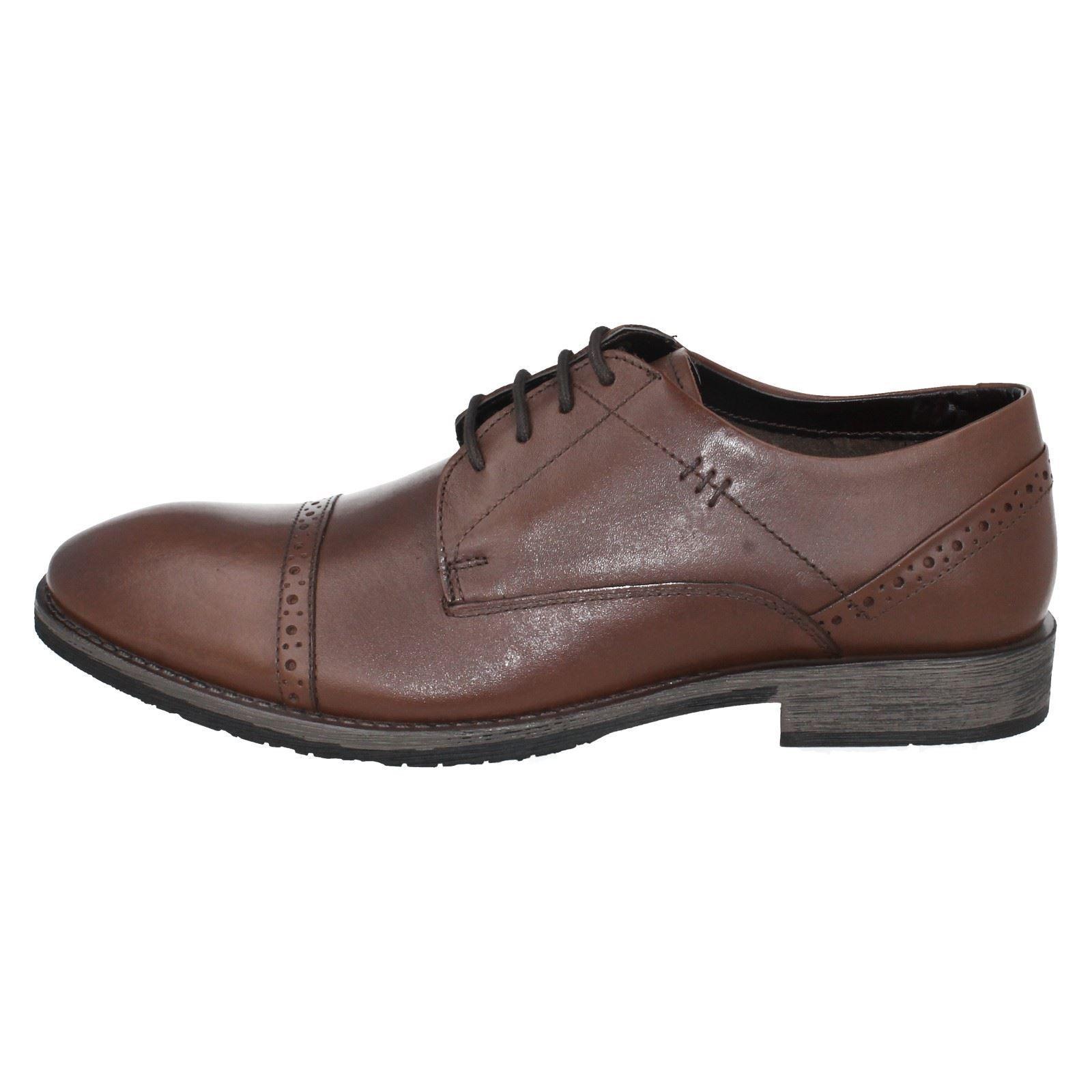 HUSH PUPPIES Craig Luganda  Up Uomo Braun Leder Lace Up  Schuhe 946b09