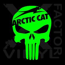 "arctic cat vinyl decal window 2X 9/"" bumper sticker arcticcat snowmobile atv"