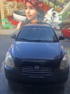 Vente de Hyundai accent 2007