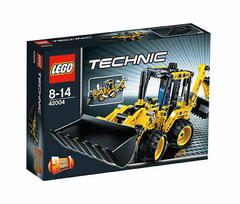 LEGO Technic Mini-Baggerlader (42004), neu und OVP, ungeöffnet