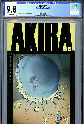 Marvel//Epic Comics CGC 9.8 White Pages 1990 Akira #22