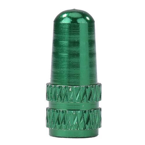 Details about  /Aluminum Alloy MTB Bicycle Tire Gas Nozzle Valve Caps Cycling Dust Cover $S1