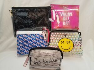 VICTORIAS-SECRET-PINK-COSMETIC-BEAUTY-BAG-TRAVEL-CASE-POUCH-YOU-CHOOSE-BRAND-NEW