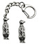Meerkat-Key-ring-And-Pin-Badge-Boxed-Gift-Set-Handcrafted-In-Pewter thumbnail 1