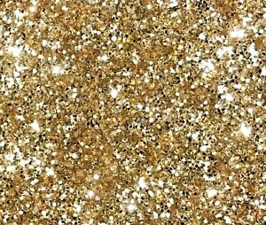 1kg light gold glitter 040 hex double sided craft walls 1mm kilogram