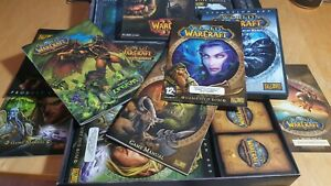 World of Warcraft Collector's Bundle - Battle Chest + Extras - Lots, Please Read