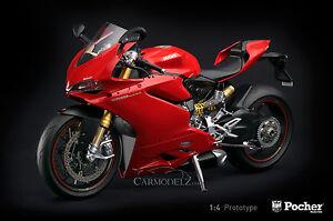 Pocher-1-4-Ducati-1299-Panigale-S-HK107-Metal-kit-Metall-Bausatz-FREE-SHIPPING