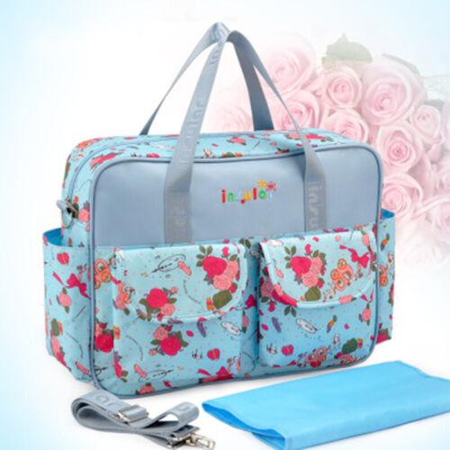 INSULAR Baby Diaper Bag Changing Bag Nappy Messenger Mummy Tote Shoulder Bag New