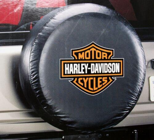 Harley Davidson HD bar shield atv suv motorcycle camper RV rear spare tire cover