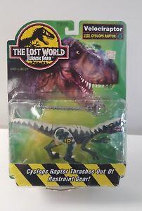 1997 Jurassic Park Lost World Cyclops Raptor Velociraptor Dinosaure Kenner Moc Jp