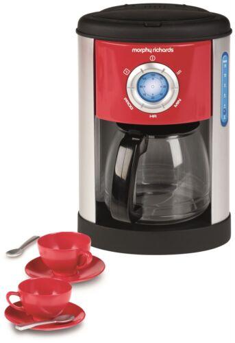 Casdon MORPHY RICHARDS COFFEE MACHINE Food Cooking Pretend Play Toy BNIP