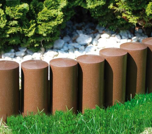 Très forte Barrière Jardin Pelouse Bordure Bordure Bord Palissade Clôture En Plastique