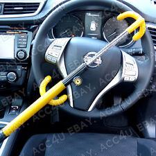Per Nissan Qashqai Auto Doppio Gancio Antifurto Alta Sicurezza Volante Serratura