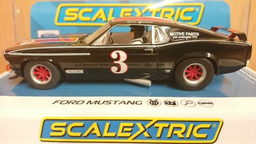 Scalextric C4014 Ford Mustang No.3 John Gimbel BRAND NEW