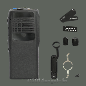 Replacement Housing Case Cover For Motorola HT750 2Way Radio Complete In Black