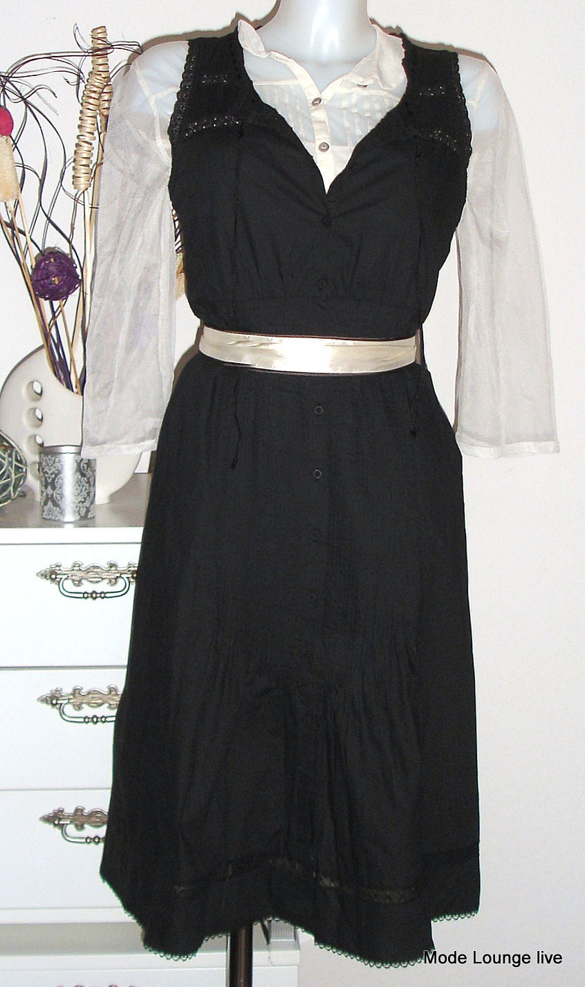 Noa Noa robe black Robe River cottonblack black Coton BASIC