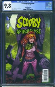 Scooby-Apocalypse-1-DC-CGC-9-8-White-Pages-Daphne-Variant-Cover
