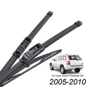 3Pcs-Front-Rear-Windscreen-Wiper-Blades-Set-For-Jeep-Grand-Cherokee-WK-2005-2010