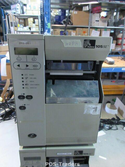 NO PRINTHEAD - Zebra 105SL Direct Thermal Transfer DT/TT Label Drucker Printer