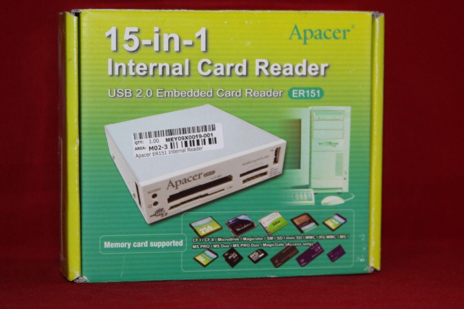 APACER EMBEDDED CARD READER ER151 DRIVER FOR WINDOWS 10