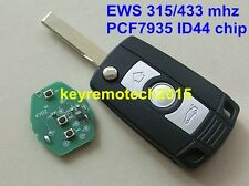 Folding Flip Remote Key 315/434 MHz W/Chip,HU92 Fit For BMW E81 E46 E39 E63 E38