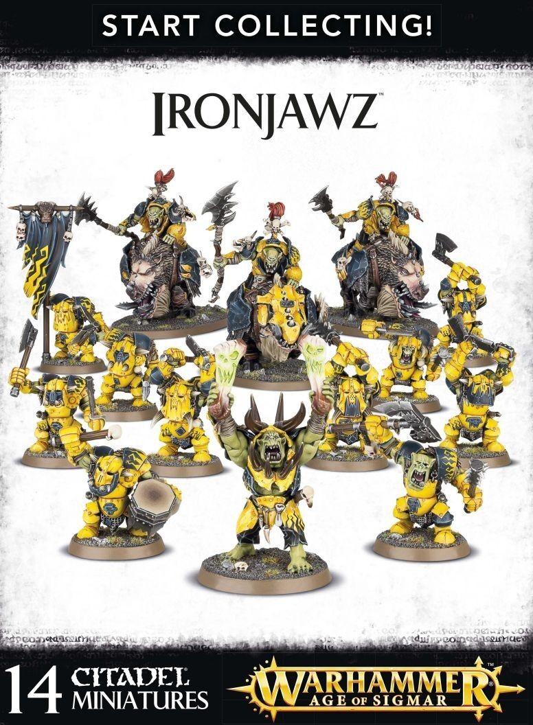Start collecting ironjawz Games Workshop Age of Sigmar Destruction Grand alli